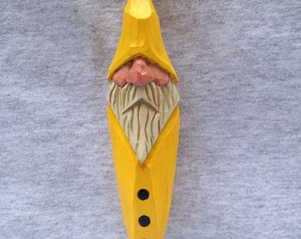 Custom Carved Old Fisherman Christmas Tree Ornament Christmas Decor Tree Trimmers Wood Carvers of Etsy