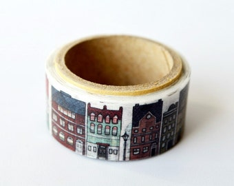 washi tape European town Yano design debut series washi tape 20mm x 5M