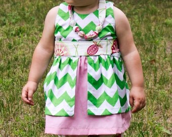 Baby Dress Pattern  | The Sadie Dress