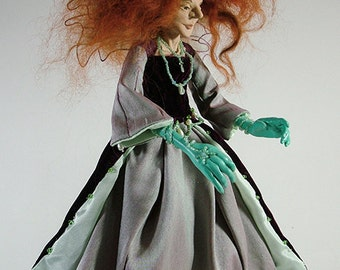 Meraide the Faery Witch- OOAK Art Doll