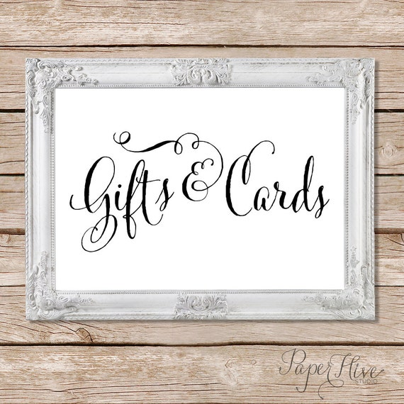 Printable wedding sign calligraphy sign gifts and cards Calligraphy and sign