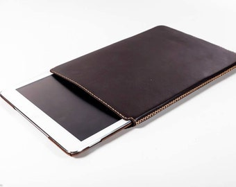 Apple iPad Air, Air 2 Genuine Leather Sleeve Case - FREE SHIPPING