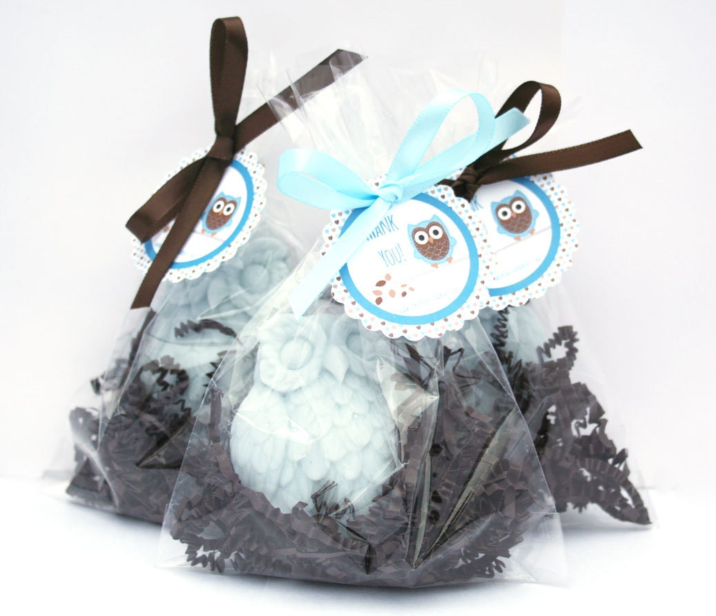 Owl Baby Shower Supplies: 50 Owl Soaps Favors Owl Baby Shower Favor Bridal Shower
