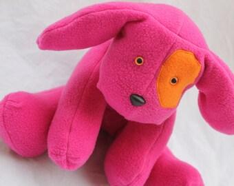 Raspberry the Stuffed Dog