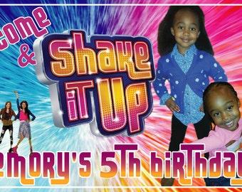 Shake It Up Birthday Invitation