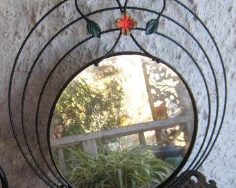 I See You Great Metal Mid Century Mordern Wall Mirror