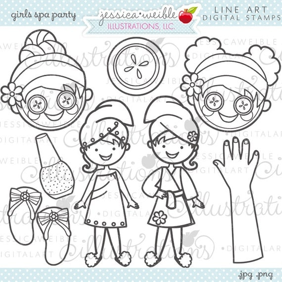 nail salon coloring pages - photo #24