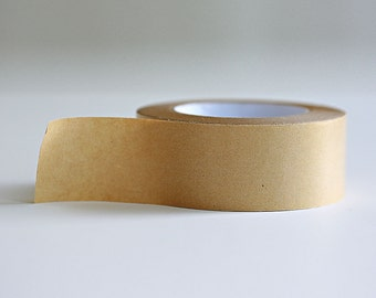 Kraft Paper Tape with glossy outer surface- 2 inches x 180ft