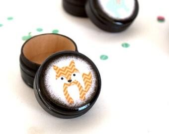 Pill Box - Chevron Fox Pill Box - Tooth Fairy Box