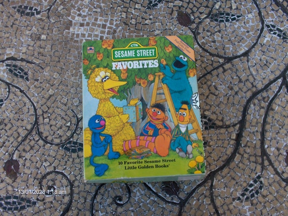 Ctw sesame street book ctw sesame street favorites 10 book box set