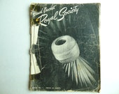 Hand Crochet by Royal Society Vintage Pattern Book No. 1, 70+ years old!