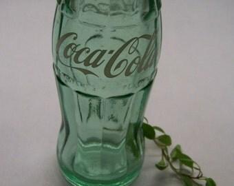 Antique Soda Bottle Coca-Cola ACL Hobble Skirt Bottle, Vintage Bottle, 1959 6.5 Oz Bottle, Farmhouse Decor, Rustic Home Decor