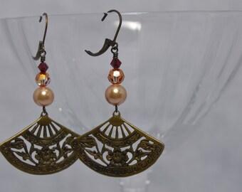 Ming Mei Oriental Flair earrings