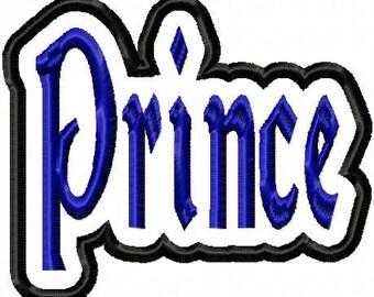 Prince Embroidery Machine Applique Design 15040 INSTANT DOWNLOAD