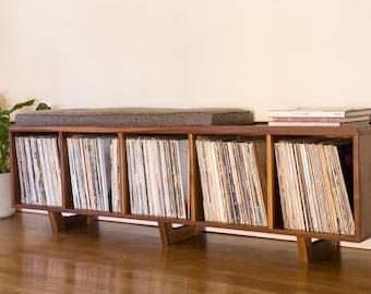 Vinyl LP Storage Bench balance payment for Fabian