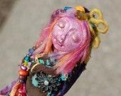 Santi - Spirit Doll - Dream Doll - Art Doll - Assemblage Doll - Mixed Media Doll