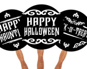 D.I.Y. Halloween photo booth props
