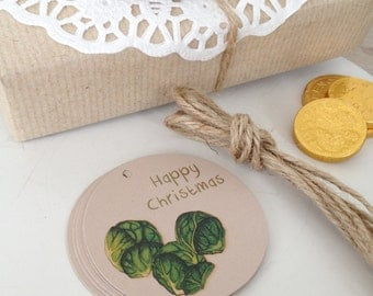 Cheeky Little Sprout Christmas Gift Tags