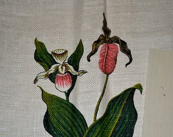 Vintage embroidery cross stitch Pattern Lady Slippers