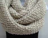 Chunky  DOUBLE Wrap Handmade COWL Comfy  Soft Warm Stylish