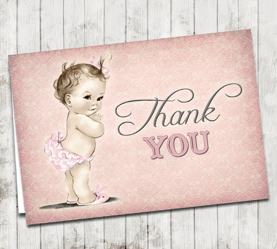 Vintage baby shower invitation for girl sweet baby aubrey pink il570xn filmwisefo