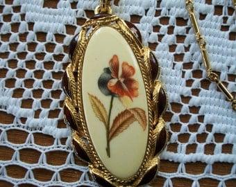 Large Flower Necklace