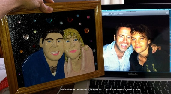 3D Clay Portrait, Custom Order, Custom made, Custom Persolized, Picture Remake, Photograph Remake, Wall Art, Wall decor, One Of A Kind
