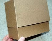 """Chipboard Box (set of 10)--6"""" x 5"""" x 2.5"""""""
