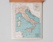 1930s Antique Maps of Italy and Switzerland