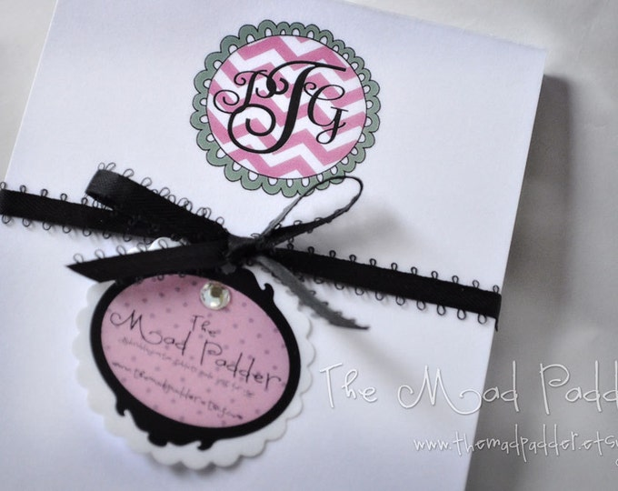 Monogram Small Notepads Set