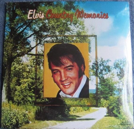 SCELLÉ ELVIS PRESLEY pays souvenirs Double Lp 1978 Vinyl Original enregistrer Album menthe