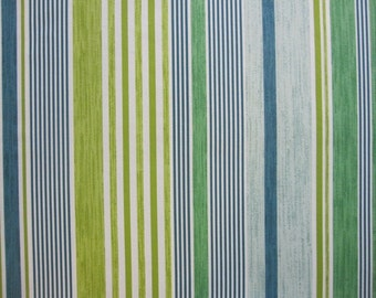 SALE...Pillow, Decorative Throw Pillow Cover, Lime Stripe Pillow Cover 20 or 22 inch...last one available