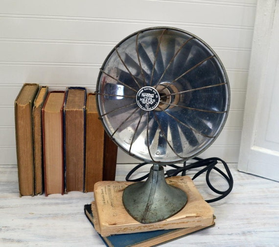 Vintage Handyhot Space Heater In Aqua Electric Heater With