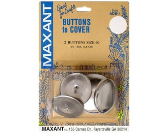 Buttons to Cover Maxant Size 60 Kit Half Ball Mold Pusher 1 1/2""