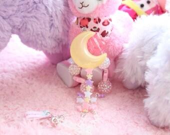 SALE Fairy Kei Sailor Moon Rod Necklace WAS 16.50