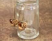 Earrings Hazelnut Charm