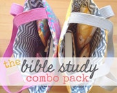 bible study combo pack [full set] -- choose your fabric print!
