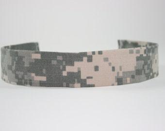 ACU Army Baby Headband Military Digital Camo