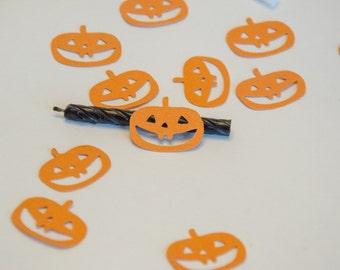 Jack O Lantern Pumpkin Confetti