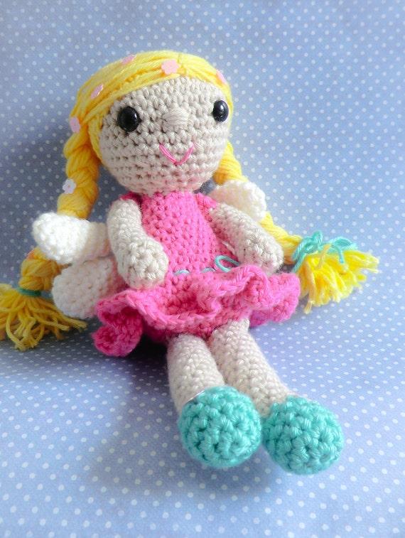 Blossom the spring fairy amigurumi PDF crochet pattern ...