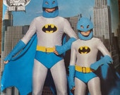 Butterick  Batman pattern from the 80's series. Boy's  all sizes 7-14