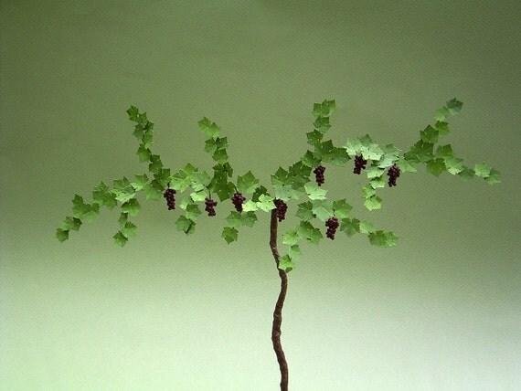 Laser Cut Grapevine Leaf kit