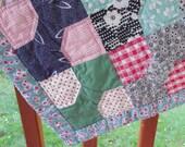 Repurposed Vintage Bow Tie Quilt