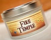 The Legend of Zelda: Ocarina of Time Inspired Soy Candle - Fire Temple