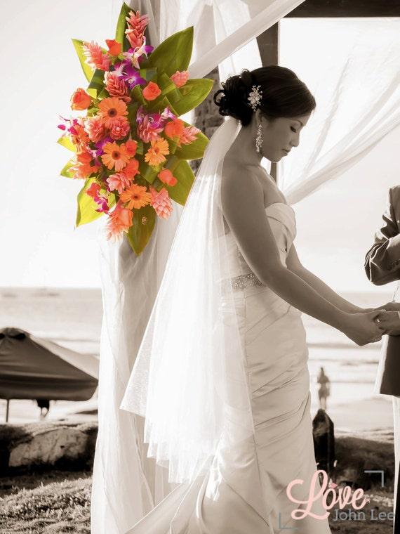 40 inches, 2 tier fingertip veil, circular/drop veil, bridal veil, wedding veil with blusher