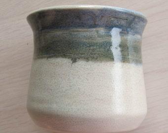 Ceramic Stoneware Pot Handmade Pottery Window Sill Vase
