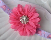 Princess Headband in Pink and Purple for Baby Girls- Perfect for Disney Vacations