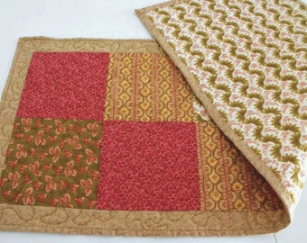 Handmade Quilted Bed Runner Queen Or King Size Bed By Bobann23