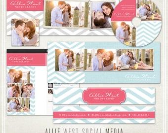 Allie West Chevron Social Media Bundle