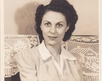 Vintage Photograph -  Lady (1C)